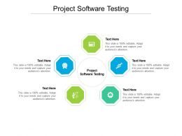 Project Software Testing Ppt Powerpoint Presentation Infographic Template Show Cpb