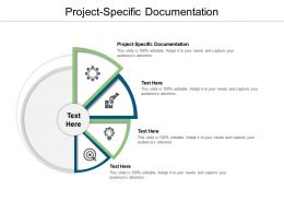 Project Specific Documentation Ppt Powerpoint Presentation Model Inspiration Cpb