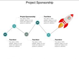 Project Sponsorship Ppt Powerpoint Presentation Layouts Master Slide Cpb