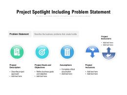 Project Spotlight Including Problem Statement