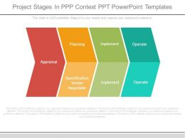 Project Stages In Ppp Context Ppt Powerpoint Templates