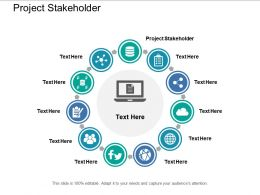 Project Stakeholder Ppt Powerpoint Presentation Visual Aids Show Cpb