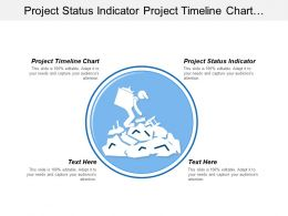 Project Status Indicator Project Timeline Chart Ongoing Activities