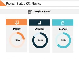 Project Status Kpi Metrics Slide2 Ppt Powerpoint Presentation File Slide Portrait