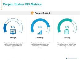 Project Status KPI Metrics Testing Ppt Powerpoint Presentation Inspiration Layouts