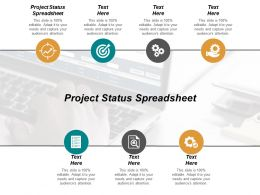 Project Status Spreadsheet Ppt Powerpoint Presentation Gallery Model Cpb