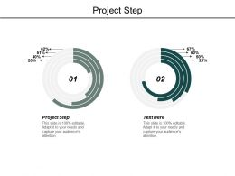 Project Step Ppt Powerpoint Presentation Model Topics Cpb