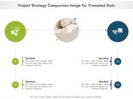 Project Strategy Comparison Image For Promoted Posts Infographic Template