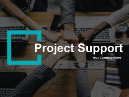 Project Support Ppt Infographics Example Introduction Support Eight Functions With Icons