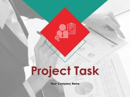 Project Task Powerpoint Presentation Slides
