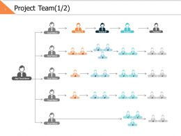 Project Team 1 2 Ppt Powerpoint Presentation File Vector
