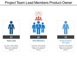 Project Team Lead Members Product Owner