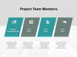 Project Team Members Ppt Powerpoint Presentation File Topics Cpb