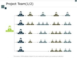 Project Team Members Ppt Powerpoint Presentation Show Graphics