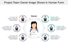 Project Team Owner Image Shown In Human Form