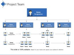 Project Team Powerpoint Slide Ideas