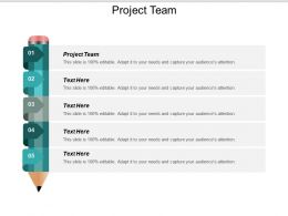 Project Team Ppt Powerpoint Presentation Layouts Mockup Cpb
