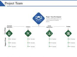 Project Team Ppt Summary