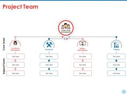 Project Team Ppt Summary Deck