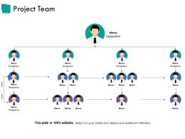 Project Team Presentation Visual Aids