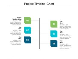 Project Timeline Chart Ppt Powerpoint Presentation Summary Design Inspiration Cpb