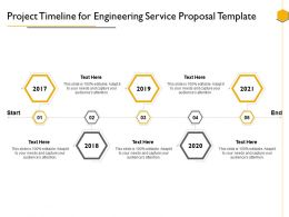 Project Timeline For Engineering Service Proposal Template Ppt Powerpoint Presentation Shapes