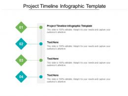 Project Timeline Infographic Template Ppt Powerpoint Presentation File Formats Cpb