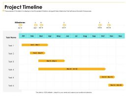 Project Timeline M3010 Ppt Powerpoint Presentation Styles Gallery