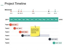 Project Timeline Planning Ppt Summary Example Introduction