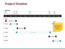 Project Timeline Powerpoint Templates