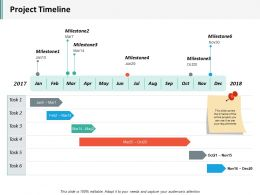 Project Timeline Ppt Inspiration Example