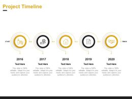 Project Timeline Ppt Powerpoint Presentation Icon Outfit