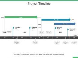 Project Timeline Ppt Professional Design Inspiration