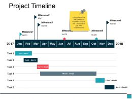 Project Timeline Ppt Slides