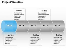 Project Timeline Process Roadmap Diagram 0314