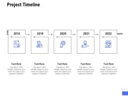 Project Timeline Technology A884 Ppt Powerpoint Presentation Professional Icon