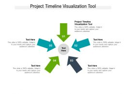 Project Timeline Visualization Tool Ppt Powerpoint Presentation File Designs Cpb