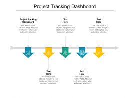 Project Tracking Dashboard Ppt Powerpoint Presentation File Inspiration Cpb