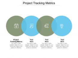 Project Tracking Metrics Ppt Powerpoint Presentation Inspiration Graphics Cpb