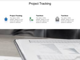 Project Tracking Ppt Powerpoint Presentation Icon Slide Cpb