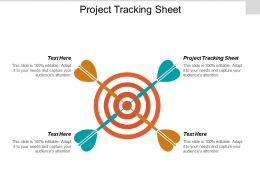 Project Tracking Sheet Ppt Powerpoint Presentation Ideas Outfit Cpb