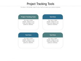 Project Tracking Tools Ppt Powerpoint Presentation Portfolio Clipart Cpb