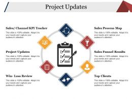 Project Updates Presentation Powerpoint Example