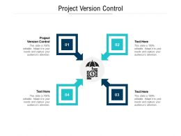 Project Version Control Ppt Powerpoint Presentation Layouts Portrait Cpb