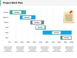 Project Work Plan Ppt Inspiration Graphics