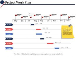 Project Work Plan Ppt Powerpoint Presentation File Graphics Pictures