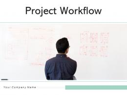 Project Workflow Management Circular Arrows Innovative