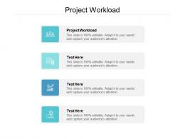 Project Workload Ppt Powerpoint Presentation Pictures Graphics Download Cpb