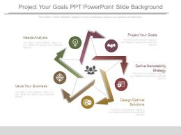 Project Your Goals Ppt Powerpoint Slide Background