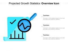 Projected Growth Statistics Overview Icon